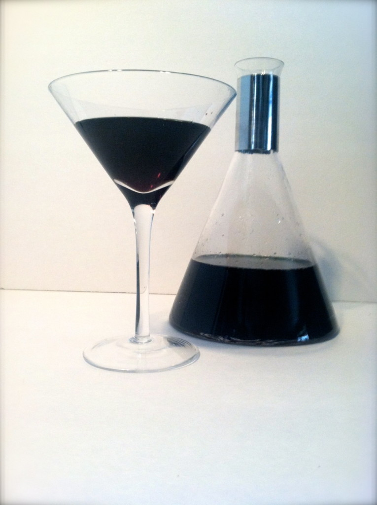 Black Oil Martini